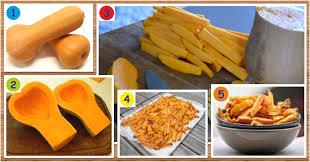 comment cuisiner courge butternut recette de frites santé et minceur de courge butternut maigrir