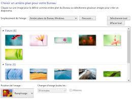 arri鑽e plan bureau windows personnalisations 1 2 changer l apparence du bureau avec les