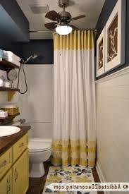 Restoration Hardware Curtain Rod Instructions by Hang Two Layers Of Curved Shower Curtain Rod Home Furniture Design