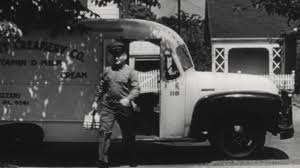 UNITED STATES, 1940s: Street In The Suburbs. Milkman Delivering Milk ... 1950 Photo Of Truck Carrying Milk Containers On Ebay Ewillys Just A Car Guy Salute The Day Vintage Fullystored 1965 Tonka Diecast Monster Vintage Site Bread Ice Cream Delivery 52 Chevy Van Alinum Body 94l 785w Home Delivery Fresh Whole Milk In Glass Containers Antique In Parade Editorial Image Apple Cream Divco Wishful Thking Gallery Popular By Richardphotos Poser Transportation Vector Modern Flat Design Illustration On Dairy Old Stock Royalty Free 2719659