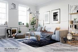 ans architecture style skandinavische wohnzimmer homify