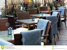 European Restaurant - Tables And Chairs Stock Photo - Image Of Cafe ... All Weather Outdoor Patio Fniture Sets Vermont Woods Studios Small Metal Garden Table And Chairs Folding Cafe Tables And Chairs Outside With Big White Umbrella Plant Decor Benson Lumber Hdware Evaporative Living Ideas Architectural Digest Superstore Melbourne Massive Range Low Prices Depot Best Large Round Outside Iron Home Marvellous How To Clean Store Garden Fniture Ideas Inspiration Ikea