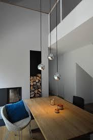 esszimmer mit luftraum grimm architekten bda moderne