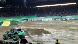 100 Monster Truck Backflip Jam Ford Field Grave Digger Freestyle Wbackflip 3417