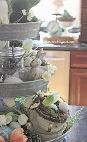 Primitive Easter Decor Canister Set by 205 Best Tiered Stand Decorating Images On Pinterest Tiered
