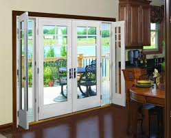 Stunning Andersen French Door Design Inspiration For Exterior Connecting Dining Room With Patio