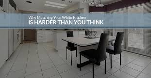 kitchen tiles san fernando the challenges of matching white cabinets