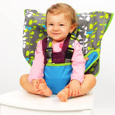 My Little Seat Infant Travel High Chair - Blue Fish