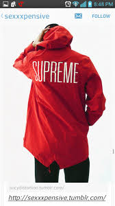 Jacket Supreme Red Menswear