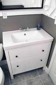 Ikea Hemnes Bathroom Collection by Ikea Hemnes Sink Laundry Room Half Bath Before And Afters Chris