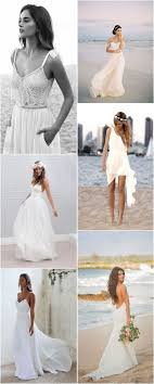 Beach Wedding Dresses My dream wedding Pinterest