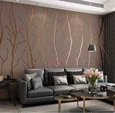 modernes design vliestapete 9 5 mx 0 53 m beflockung 3d elegance tapete für schlafzimmer wohnzimmer tv hintergrund wand büro wanddekoration braun