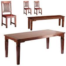 essgruppe cuba 90x178 3 stühle 1 bank
