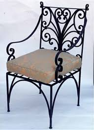 Vintage Wrought Iron Patio Furniture Cushions by Wrought Iron Furniture Chairs And Benches Modern Interior