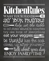 Kitchen Rules Free Printable Gotta Have This In The