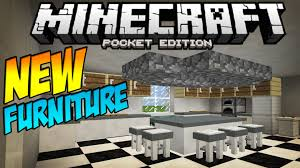 0 11 1 FURNITURE MOD Table Stools & MORE Minecraft Pocket