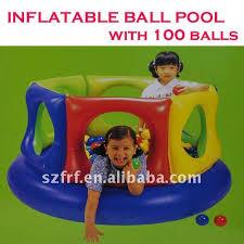 piscine a balle gonflable aménagement piscine boule gonflable