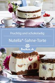 nutella sahne torte