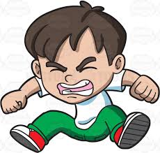 Anger clipart angry child Pencil and in color anger clipart