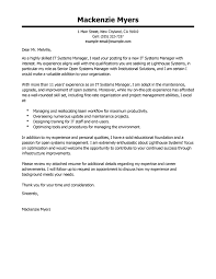 Cover Letter Tips For IT
