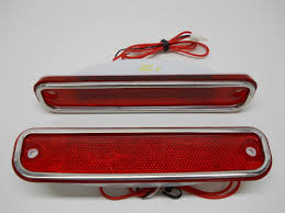 100 75 Chevy Truck 1973 74 76 77 78 79 1980 GMC Red LED Clearance Side