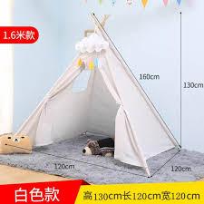 100 Studio Tent Indian Children Pure Cotton Cloth Indoor Childrens Game Children Photographic Prop