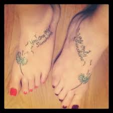Amazing Mother Daughter Quotes Tattoos On Feet In 2017 Real Photo Pictures Images And Sketches Tattoo Collections