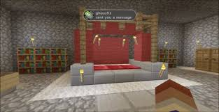 Minecraft Living Room Ideas Pe by Awesome Minecraft Pe Bedroom Scandlecandle Com
