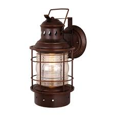 cascadia lighting nautical outdoor sconce lowe s canada