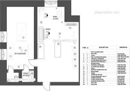 Bathroom Cad Blocks Plan by Types Room Dwg Models Free Download