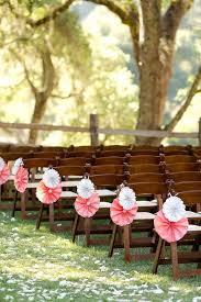DIY Paper Pinwheels Wedding Aisle Decor
