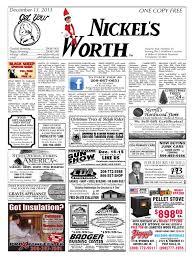 Waste Management Christmas Tree Pickup Spokane Wa by Nickel U0027s Worth Issue Date 12 13 Pickup Truck Four Wheel Drive