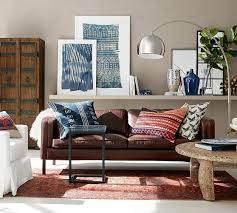 turner leather chaise sofa pic photo pottery barn leather sofa