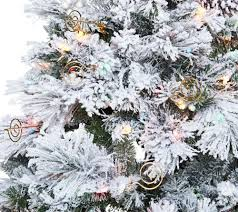 Qvc Christmas Tree Recall by Hallmark 7 5 U0027 Snowdrift Spruce Tree With Quick Set Technology