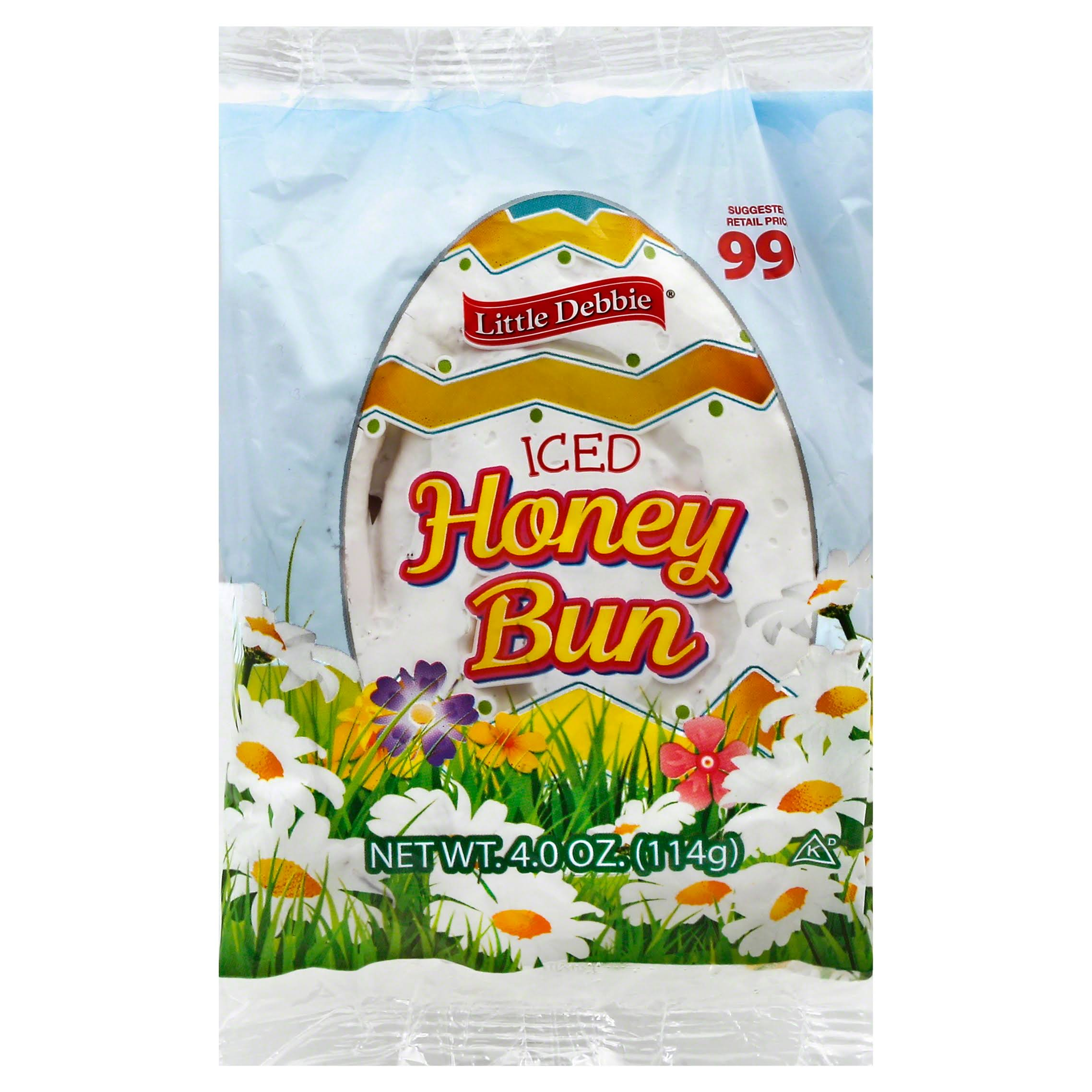 Little Debbie Snacks Iced Honey Bun - 4.02oz