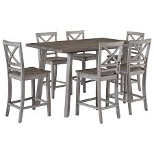 Fairhaven Rustic Table Set With Six Chairs By Standard Furniture At Wayside  Furniture Coaster Fniture Los Feliz Ding Table Max Casual Counter Height Set By Elements Intertional At Household Home Furnishings 7pc Chairs Contemporary Style Cappuccino Finish Casual Ding Room Table Settings Good Room Sets Create An Viting Space In A Kitchen Or Target Marketing Systems Helena 5 Piece Overhead View Of Restaurant With Wooden And Bradshaw Round Pub Ladderback Chair Liberty Appliancemart Alyssa Portland City Liquidators The Alzare Raising Coffee