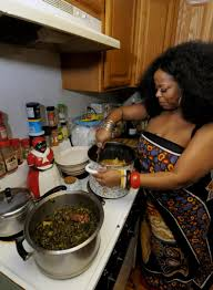 Lisinicchia Cooks Up Some Pigs Feet With Green Collards And Ham Hocks In Her Saratoga Springs