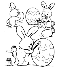 Free Easter Coloring Pages At Printable Disney
