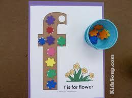 Flower Garden Preschool And Kindergarten Language Arts Activities