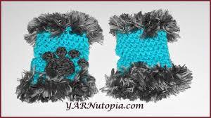Cat Paw Print Pumpkin Stencil by Crochet Tutorial Cat Paw Hand Warmers With Fur Yarnutopia By