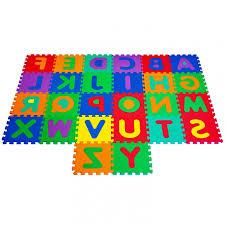 Amazon Trademark Global Foam Floor Alphabet Puzzles Mat For