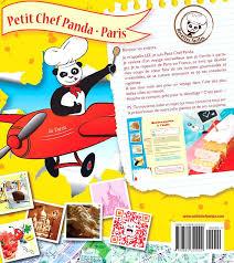 livre de cuisine enfant livre de cuisine pour enfant petit chef panda livre de cuisine pour
