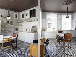 carrelage cuisine noir et blanc carrelage cuisine noir cuisine grise anthracite 2 carrelage sol