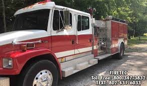 100 Freightliner Fire Trucks 1996 FL80 EEI Fire Truck For Sale Engine Pumper