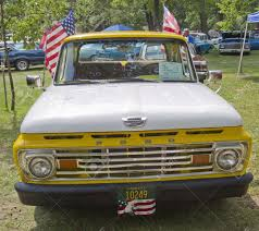 WAUPACA, WI - AUGUST 25: Front Of 1961 Ford Unibody F100 Truck ... 1961 Ford F100 Unibody Gateway Classic Cars 531ftl Will Your Next Pickup Have A Unibody 8 Facts You Didnt Know About The 6163 Trucks 62 Or 63 34 Ton Truck U Flickr 1962 Short Bed Pickup Youtube F 100 New Considered Based On Focus C2 Goodguys Of Year Late Gears Wheels And Midsize Dont Need Frames Sold Truck Street Magazine Cover Luke