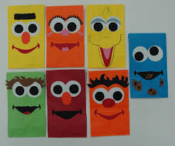 Sesame Street Paper Party Bags