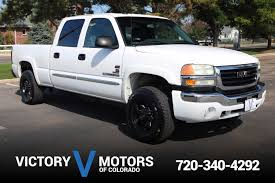 100 2004 Gmc Truck GMC Sierra 2500HD SLT Victory Motors Of Colorado