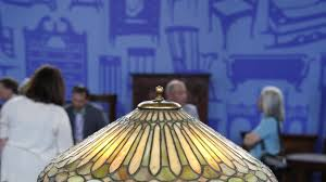 duffner kimberly leaded glass table l antiques roadshow pbs