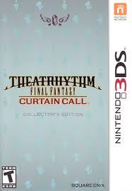 Theatrhythm Final Fantasy Curtain Call Limited Edition by Theatrhythm Curtain Call Differences 28 Images Video Second