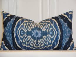 Small Decorative Lumbar Pillows by Duralee Decorative Pillow Cover And More Sizes Ikat Masala